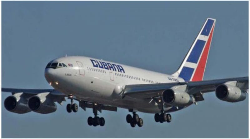 Cubana Aviacion La Habana Madrid