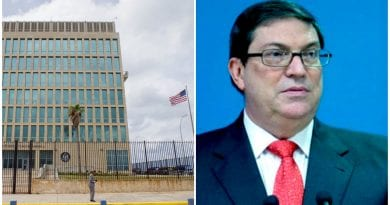 EEUU Bruno Rodriguez tiroteo embajada