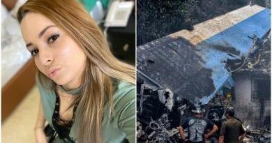 Mailen Diaz accidente aereo