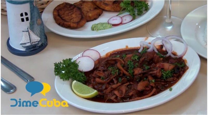 receta calamares cubana