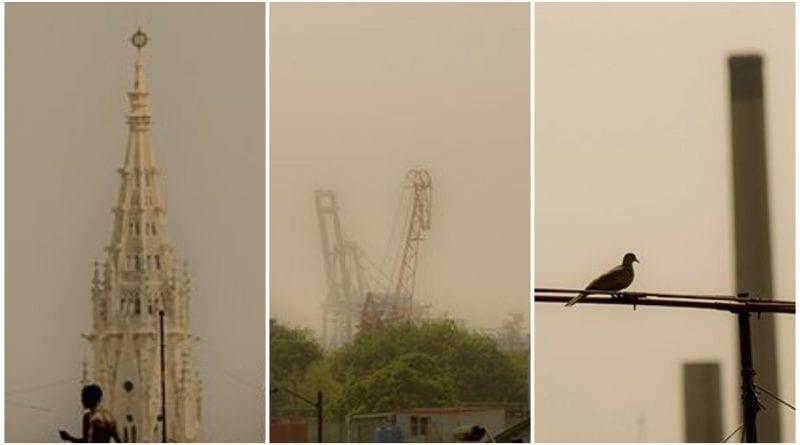 La Habana nube polvo Sahara