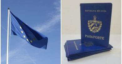 Union Europea viajeros Cuba