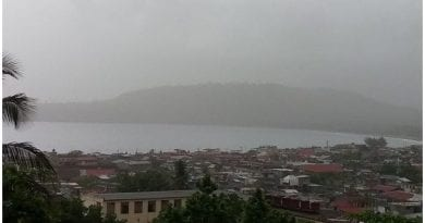nube polvo Sahara Cuba - pic