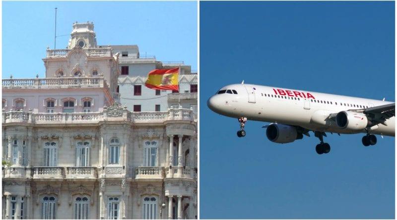 España vuelo repatriacion Cuba