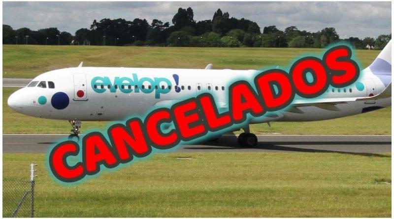 Evelop cancela vuelos Cuba