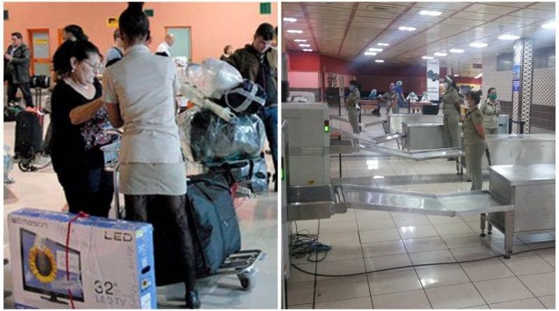 aduana Cuba efectos personales