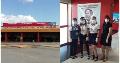 aeropuerto Varadero turistas extranjeros