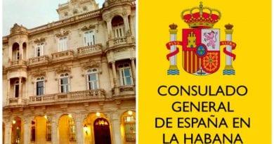 consulado España Habana tramites