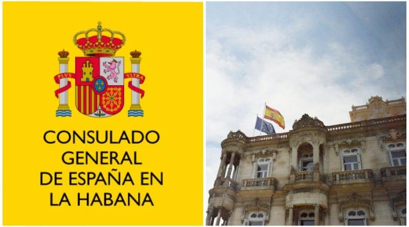 consulado España La Habana servicios