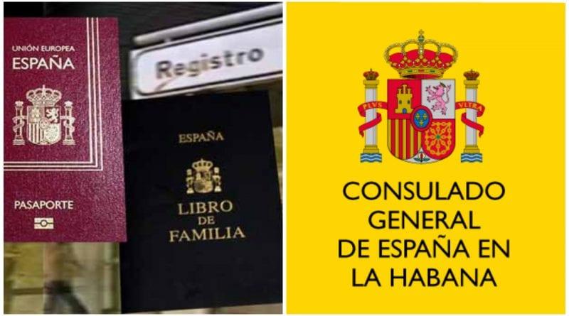 consulado España nacionalidad opcion