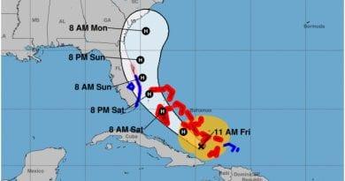 huracan Isaias Florida