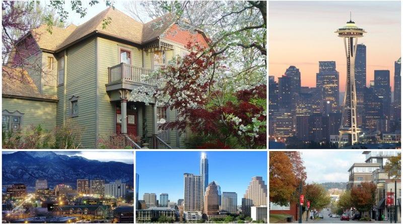 mejores ciudades vivir Estados Unidos