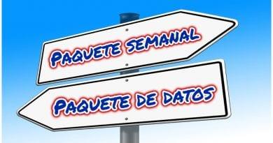 paquete semanal datos Cuba