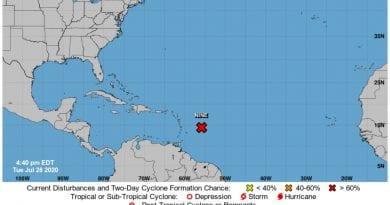 tormenta tropical Cuba Florida