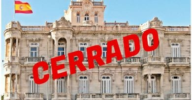 Cierra Consulado España Cuba