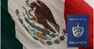 Embajada Cuba Mexico pasaporte