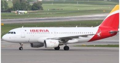 Iberia vuelo humanitario MININT