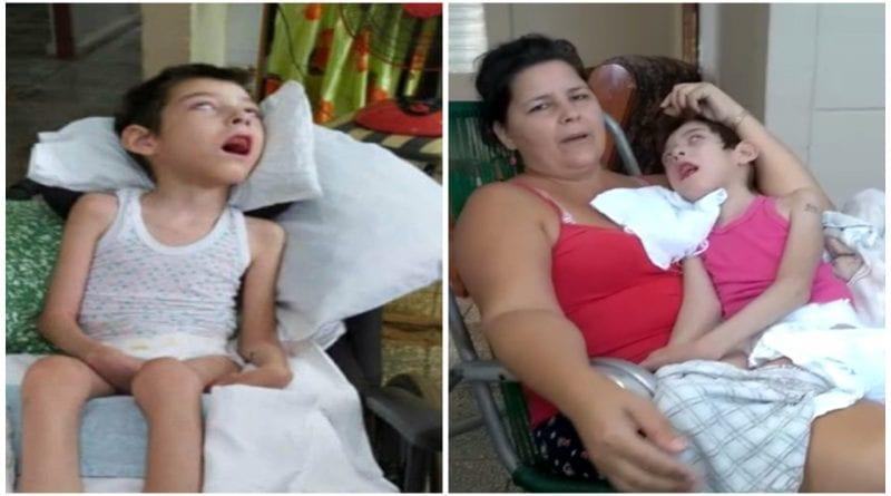 ayuda niño cubano grave