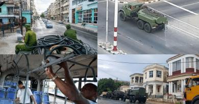 Retoman desinfección de la Habana por fuerte brote de Covid19