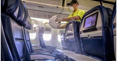 desinfectante American Airlines coronavirus