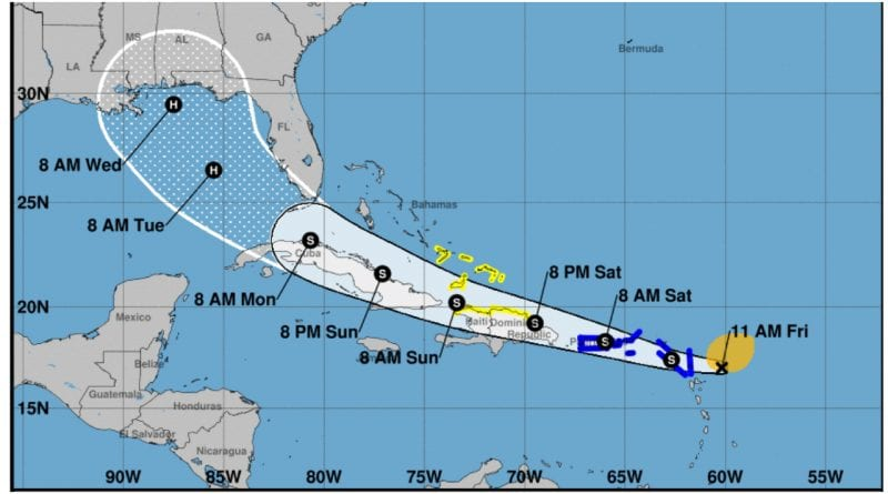 tormenta tropical Laura Cuba