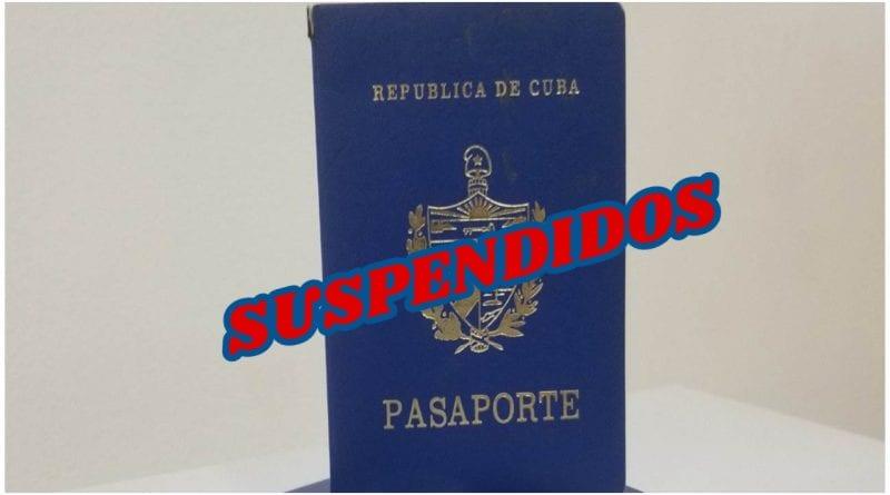 MININT pasaportes Cuba carnets