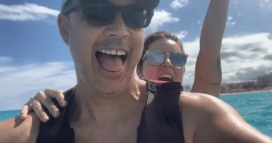 Alexis y Claudia Valdés: Felices en Cancún en plena pandemia