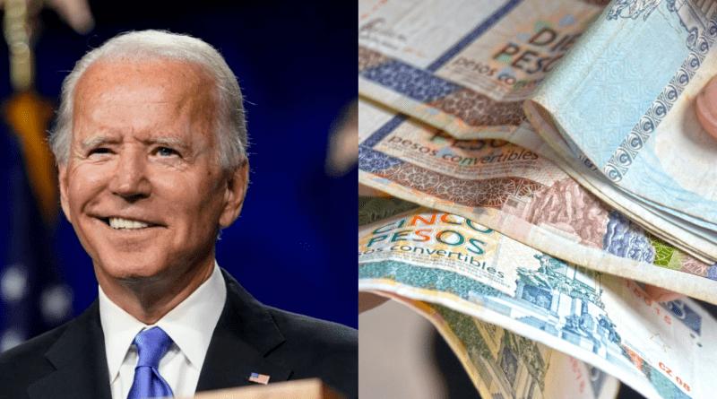 Biden promete eliminar restricciones de remesas a Cuba