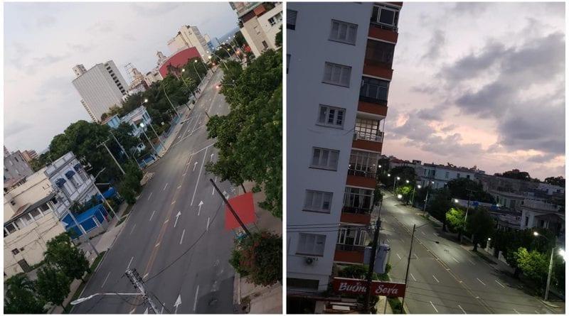 calles Habana toque queda