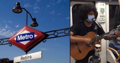 El cubano no calla ni bajo el agua: Protesta en el metro de Madrid