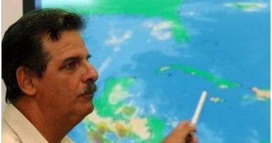 meteorologo Jose Rubiera evoluciona