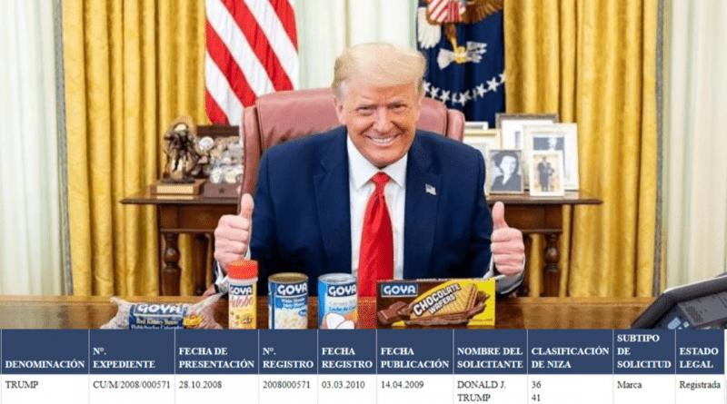 Trump tiene su marca registrada en Cuba desde el 2008