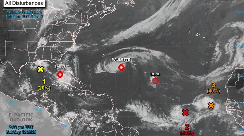 Pronostican lluvias con tormentas eléctricas en la costa norte de Cuba