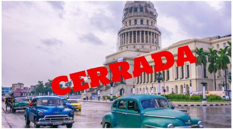 La Habana cerrada