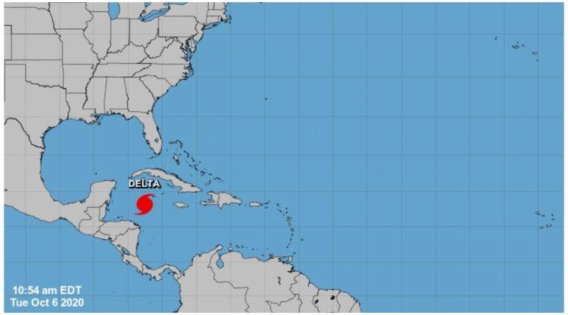 huracan Delta hoy