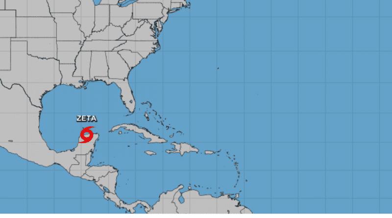 Huracán Zeta provocará fuertes lluvias y marejadas en Cuba, este martes