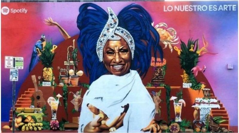 mural Miami Celia Cruz