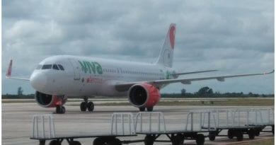 primer vuelo Cuba Mexico