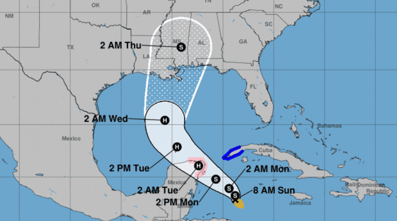 Tormenta tropical Zeta provocará fuertes lluvias en el oeste de Cuba