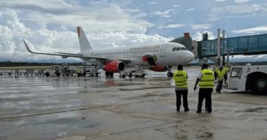 Varadero recibe el primer vuelo internacional entre México y Cuba