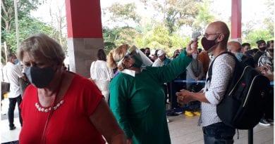viajeros Cuba Mexico Covid19