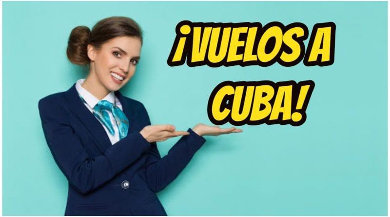 vuelos aeropuertos cubanos apertura