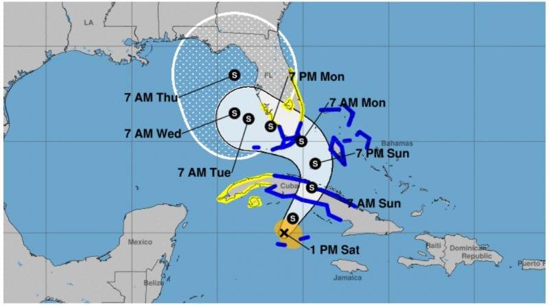 alarma tormenta Eta Cuba