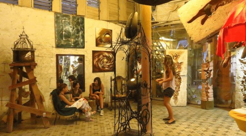 Ayuda para los artistas cubanos de la galería El Ojo del Ciclón en la Habana