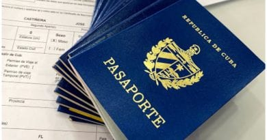 cubanos pasaporte vencido