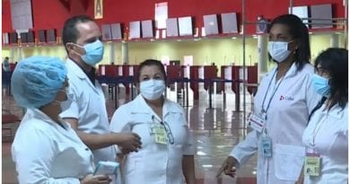 protocolos bioseguridad aeropuerto Habana