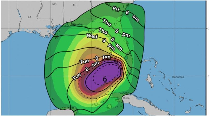 tormenta Eta Cuba ruta