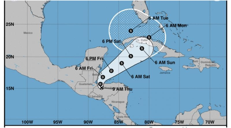tormenta tropical Eta Cuba
