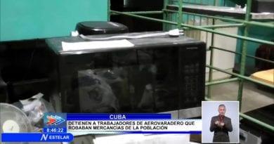 Detienen a trabajadores de Aerovaradero por Robo de mercancía en Cuba