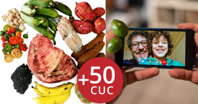 Envía combo de comida a Cuba y una recarga cubacel por 88 dólares